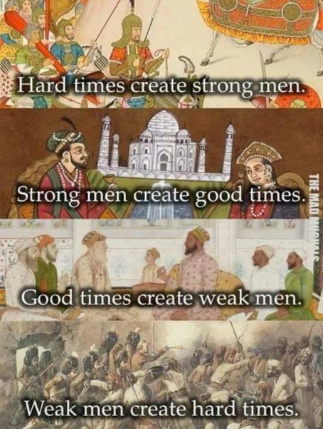 hard times strong men